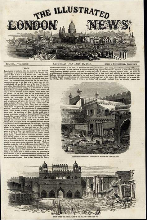 vintage siege delhi after the siege architecture 1858 great