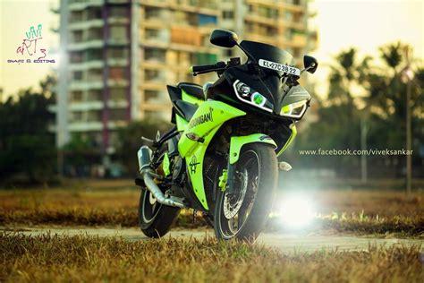 R15 V2 Modification Tips by Yamaha Yzf R15 V2 Green Black Modification Modifiedx