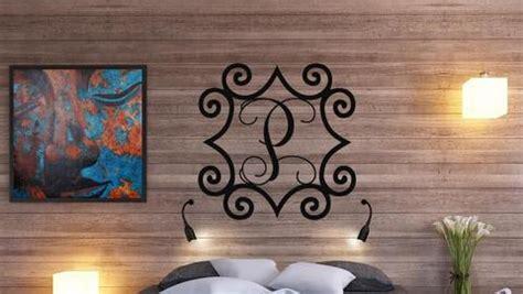 wrought iron inspired metal wall art
