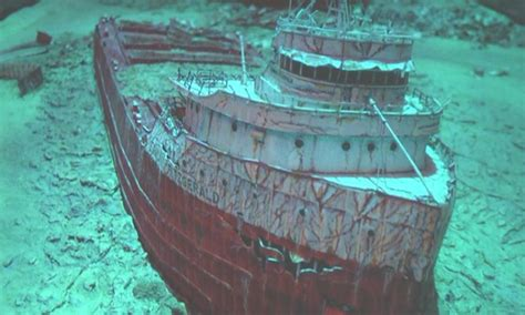 where did the edmund fitzgerald sank shipwreck archives peninsula abc 10