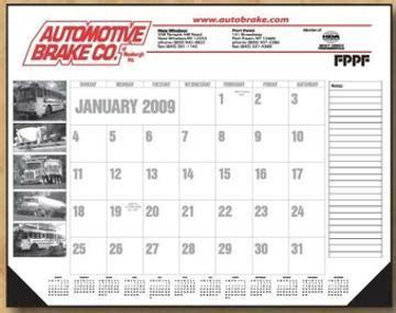 personalized large desk pad calendar custom desk calendar pads personalized in bulk 22 quot x17