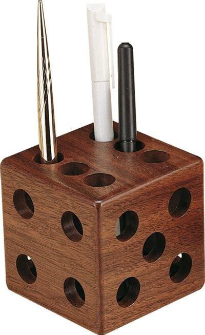 wood dice pencil cup  liquidationpricecom home