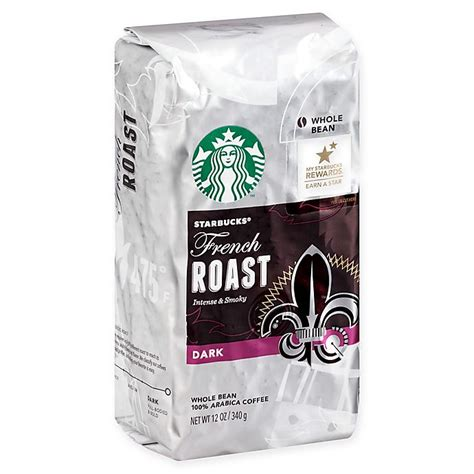 Sourced for the season, roasted at starbucks reserve® roasteries. Starbucks® 12 oz. French Roast Whole Bean Coffee   Bed Bath & Beyond