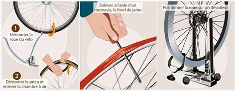 réparer une chambre à air de vélo comment dévoiler une roue de vélo et régler le saut