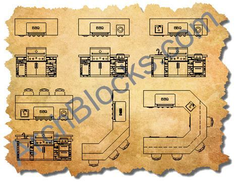 AutoCAD Outdoor Living Furniture