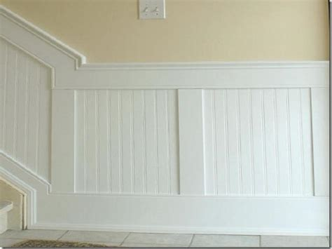 How To Install Beadboard Wallpaper : Tips For Installing Bead Board Lowes