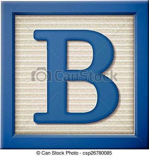 b block letter up look at 3d blue letter block b vector search 33779