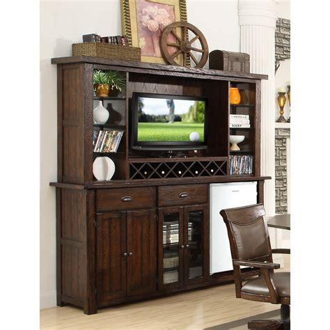 Back Bar Furniture by Eci Furniture Gettysburg Back Bar With Hutch 1475 05