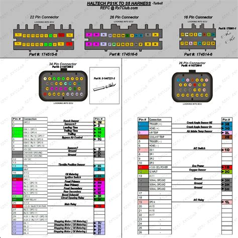 haltech infographic s5 t2 to haltech rx7club com mazda rx7