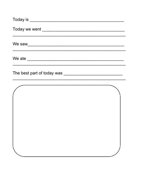 Travel Template For Kids by 7 Best Images Of Travel Journal Printable Template Free
