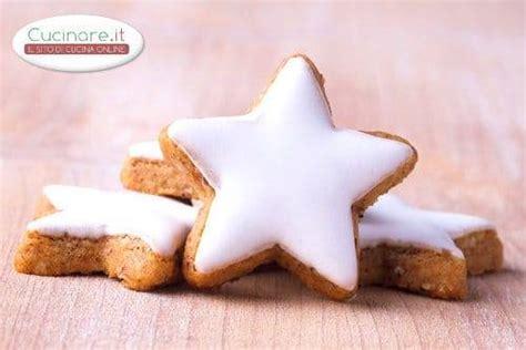 cucinare i biscotti biscotti a stella natalizi cucinare it