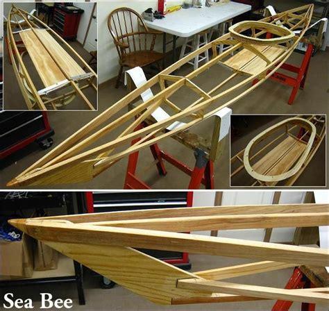 wood sof kayak builders manual homebuilt skin  frame kayaks  thomas yost woodworking