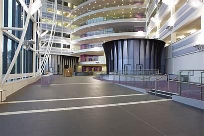 College Sandwell Construction Site Atrium Birmingham Interior