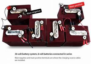 The Main Positive And Negative Terminals Are Same Battery