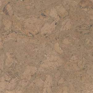 Bleached Colored Cork Floor Tiles in Nugget Texture ...
