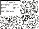 Coloring Restaurant Pages Getdrawings sketch template