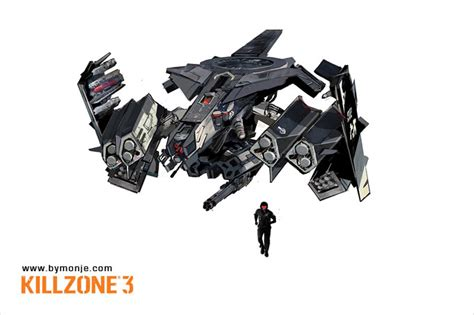 Killzone 3 Concept Art By Miguel Angel Martinez Monje