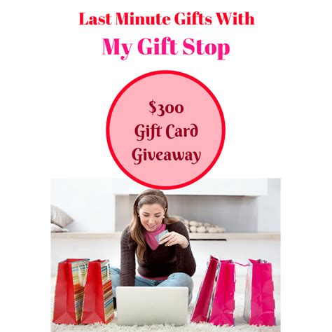 Last Minute Gifts With My Gift Stop & $300 Gift Card Giveaway