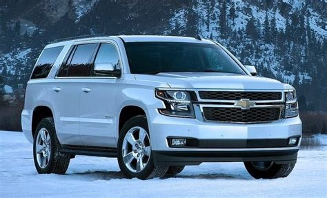 New Chevrolet Suv by New Chevrolet Tahoe Suv Lands In Europe In Russia