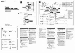 Sony Car Cd Player Wiring Diagram Sony Xplod 52wx4 Wiring