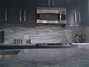 Gray Backsplash Kitchen Grey Kitchen With Granite Coutertop