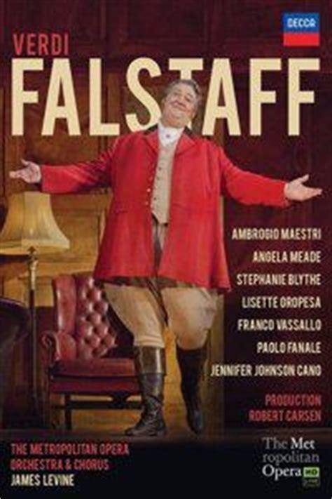 Dvd, Compte Rendu Critique Verdi  Falstaff (levine