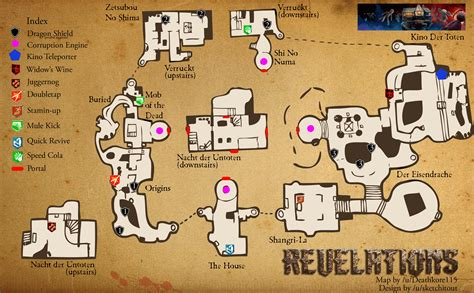 map layout zombies bo3 duty call shima zetsubou eisendrache buildable bleach towards deal wife stars head power