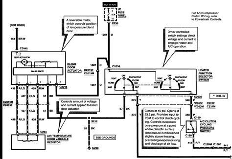 1999 Tauru Wiper Wiring Diagram by 1997 Wiring Diagram Taurus Car Club Of America Ford