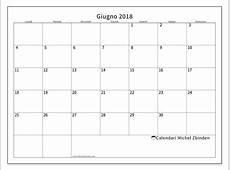 Calendari giugno 2018 LD Michel Zbinden IT