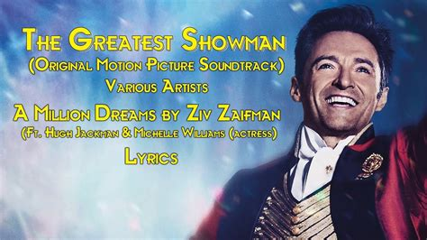 A Million Dreams By Ziv Zaifman Ft Hugh Jackman & Michelle