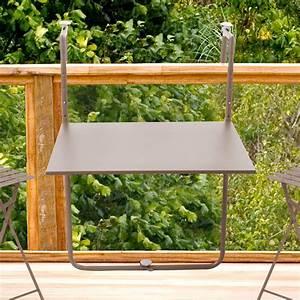 Table De Balcon : table de balcon pliante 60x53cm pop ~ Teatrodelosmanantiales.com Idées de Décoration