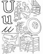 Words With Letter U Colouring Pages Kids Under 7 Circle The Correct Spelling Of 39 U 39 Words Letter U Coloring Pages Letter U Coloring Page Words That Start With The Letter U Long U Book A Printable Book