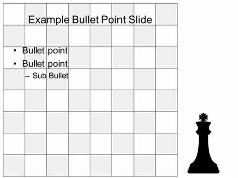 chess board game template
