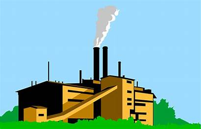 Factory Clipart Building Smoke Illustration Cliparts Smoking