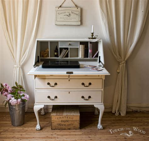 the bureau shabby chic writing desk bureau no 15 touch the wood