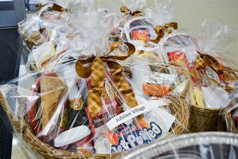 ft cares donates thanksgiving baskets outreach community
