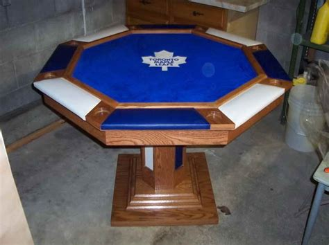 octagon poker table top   entertainment room