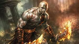 Blades Of Chaos - God Of War Wallpaper