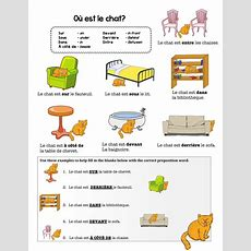 French Preposition Practice By Chezgalamb  Teaching Resources