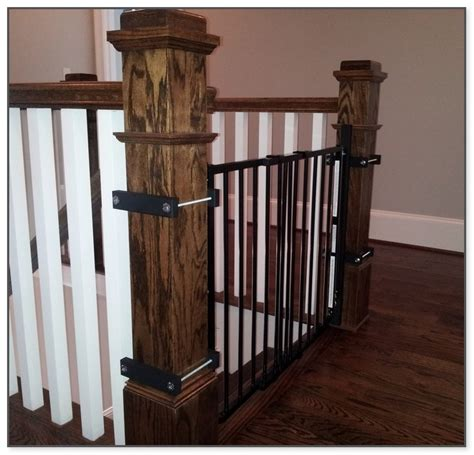 Baby Gates For Stairs With Banisters by Baby Gate For Banister