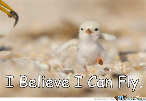 I Believe I Can Fly Meme - i believe i can fly by mysteryguy meme center