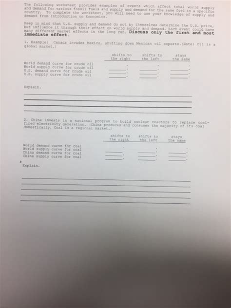 solved the following worksheet provides exles and dena