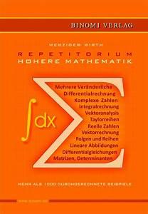 Komplexe Eigenwerte Berechnen : repetitorium h here mathematik binomi verlag ~ Themetempest.com Abrechnung