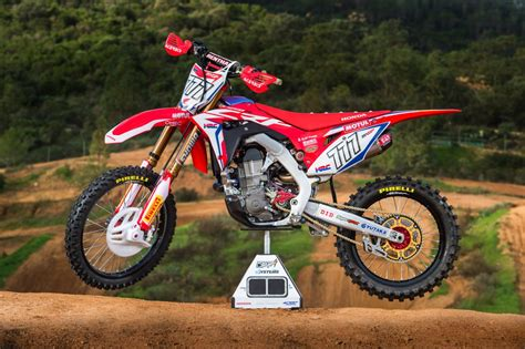 honda crf racing cafè honda crf 450 rw team hrc 2017
