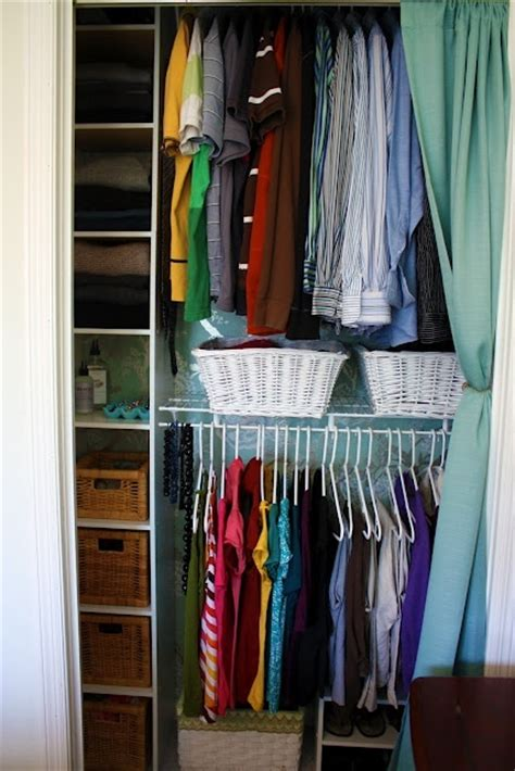 organizing small closets projects