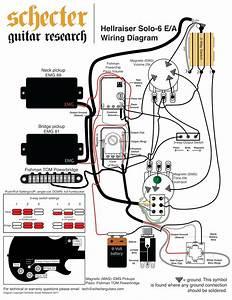 Emg Active Bass Pickup Wiring Diagram