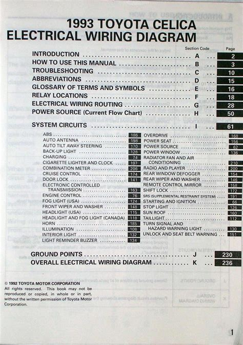 1990 1993 5 toyota celica electrical wiring diagram celicatech