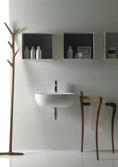 Modern Rustic Bathroom Accessories by Modern Rustic Bathroom Furniture Collection Ergo By Galassia