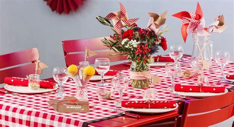 table guinguette  idees de deco super faciles party