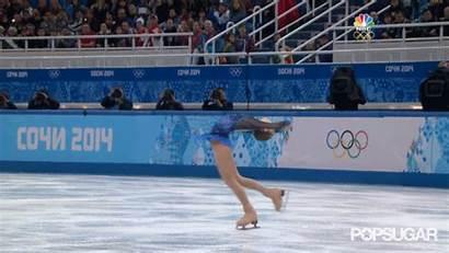 Lipnitskaia Skating Julia Figure Olympic Ice Spin